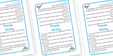 Tabletop Visual Targets (English Writing)