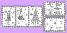 Matariki Mindfulness Colouring Pages