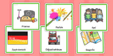 KS2 Visual Timetable Polish