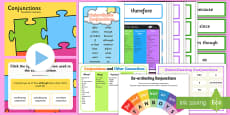 * NEW * Conjunctions Resource Pack