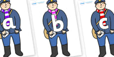 Phoneme Set on Jolly Christmas Postman to Support Teaching on The Jolly Christmas Postman