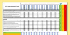 Australian Curriculum Year 4 History Assessment Tracker