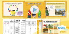 PlanIt Y5 Term 1B W4: 'ment' Endings Spelling Pack