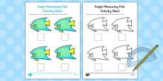 Angle Measuring Fish Activity