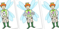 100 High Frequency Words on Fairy Prince