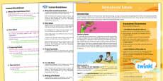 PlanIt - D&T KS1 - Sensational Salads Planning Overview CfE