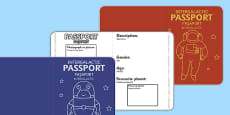 Space Passports Romanian Translation