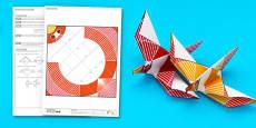 Enkl Origami Dove Printable
