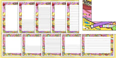 Sweets Page Border Pack