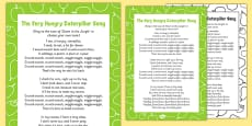 Song to Support Teaching on The Very Hungry Caterpillar