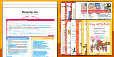 Childminder EYFS Chinese New Year Activity Web and Resource Pack