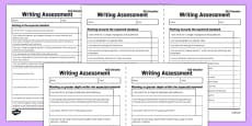 Y6 'I Can' Writing Assessment Exemplification Checklists