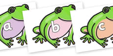 Phase 2 Phonemes on Green Tree Frog