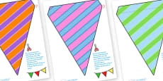 Display Bunting (Stripes)