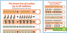 The Great Fire of London Up to 20 Addition Sheet