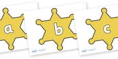 Phase 2 Phonemes on Sheriffs Badges