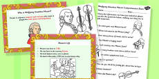 Wolfgang Amadeus Mozart Differentiated Lesson Teaching Pack