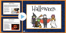 Halloween Informative PowerPoint