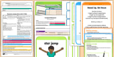 Foundation PE (Reception) - Gymnastics - Jumping Jacks and Rock 'n' Roll Lesson Pack 6: Super Sequences
