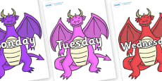 Days of the Week on Dragons (2)