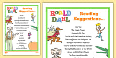 Roald Dahl Reading Suggestions