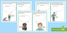 Other People's Feelings Thought Cards Set 2