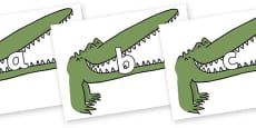 Phase 2 Phonemes on Enormous Crocodile to Support Teaching on The Enormous Crocodile
