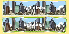 Buildings Display Banner
