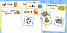 3D Shape Sorting Activity (Australia)
