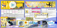 PlanIt - Science Year 6 - Light Unit Pack