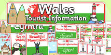 Wales Tourist Information Role Play Pack