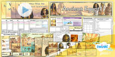PlanIt - History UKS2 - Ancient Egypt Unit Pack