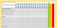 Australian Curriculum Year 6 History Assessment Tracker