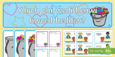 Ydych Chi Wedi Llenwi Bwced Heddiw? Pecyn Adnoddau