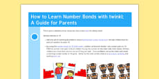How to Learn Number Bonds with Twinkl: a Guide for Parents