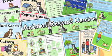 Animal Rescue Centre Role Play Pack