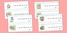 Beatrix Potter - The Tale of Tom Kitten Alphabet Strips