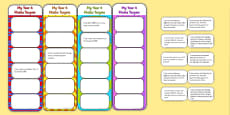 2014 Curriculum Year 4 Maths Target Bookmarks