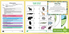 EYFS Jungle Animals Busy Bag Plan and Resource Pack