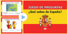 What do you know about Spain? Quiz Spanish