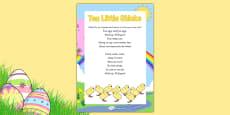 Ten Little Chicks Rhyme