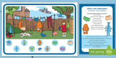 * NEW * Can You Find...? Poster and Prompt Card Pack to Support Teaching on Aliens Love Underpants