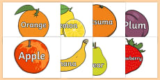 Fruit Words on Fruit