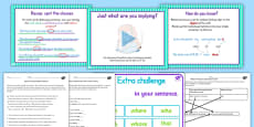 Use Relative Clauses Lesson Ideas and Resource Pack UKS2