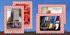 Remembrance Day Display Photos Polish Translation