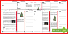 Christmas Around the World: Scandinavia Differentiated Reading Comprehension Activity