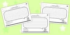 The Secret Garden Thought Bubble Activity Sheets Pack