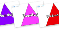 Days of the Week on Triangles