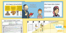 PlanIt - RE Year 2 - Rules and Routines Lesson 3: Shabbat (Judaism) Lesson Pack