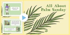What Is Palm Sunday? Powerpoint